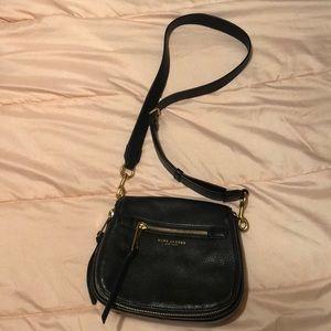 EUC Marc Jacobs Black Leather Handbag